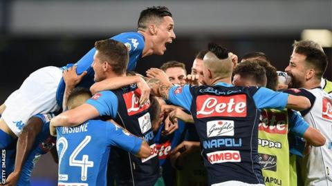 Napoli won't rest key players against Manchester City - Pep