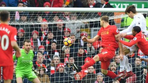Swansea beats Southampton to stay above EPL drop zone
