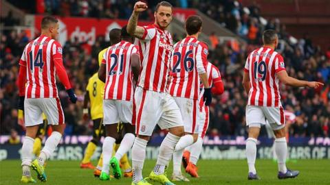 Marko Arnautovic has scored three goals in his last three appearances at the Britannia Stadium.