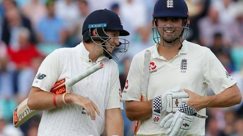 Joe Root & Alastair Cook