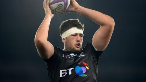 Rory Thornton of Ospreys