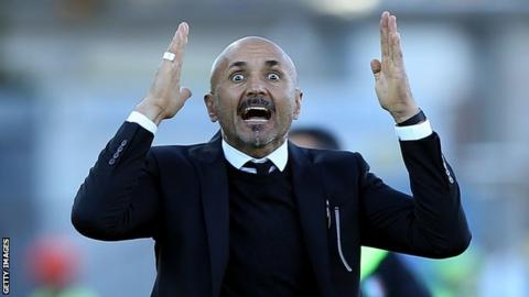 New Inter Milan boss Luciano Spalletti