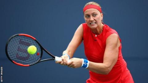 Kvitova books Bellis quarterfinal in Stanford