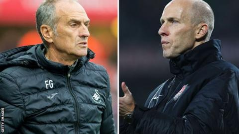 Francesco Guidolin and Bob Bradley