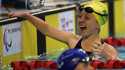 Australian swimmer Tiffany Thomas-Kane