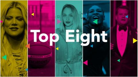 Khloe Kardashian, Serena Williams, James Corden, Jemima Kirke