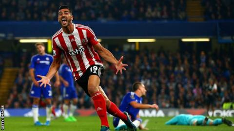 Southampton came from behind to beat Chelsea 3-1 at Stamford Bridge in October.