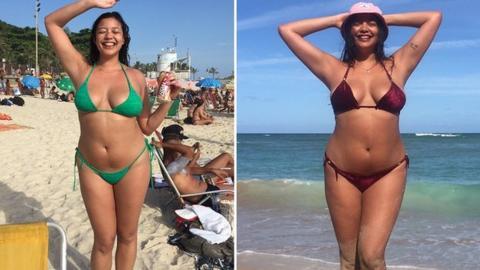 Bilder von nackten Frauenmodellen