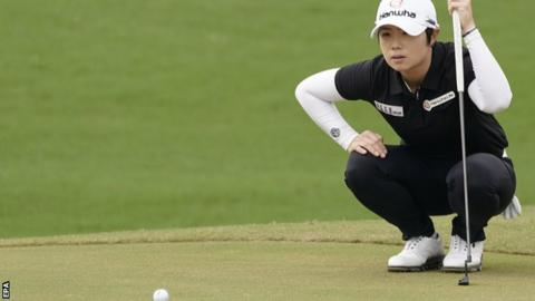 South Korea's Ji ahead going into final in Taiwan