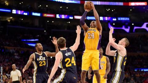 Los Angeles Lakers to retire Kobe Bryant's jersey on December 18