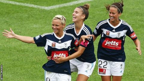 Jess Fishlock had two previous loan spells in Australia with Melbourne Victory