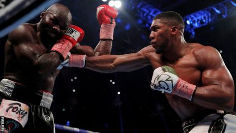 I'll fight Wilder on my terms, says Joshua