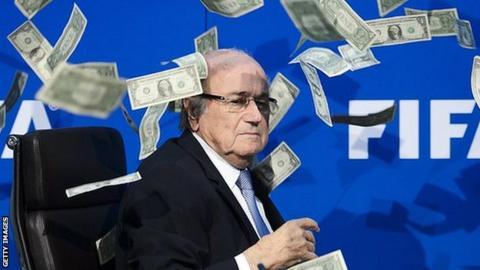 Sepp Blatter reigned as Fifa president from 1998
