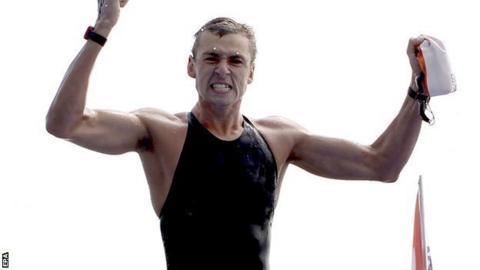 Jack Burnell swimming