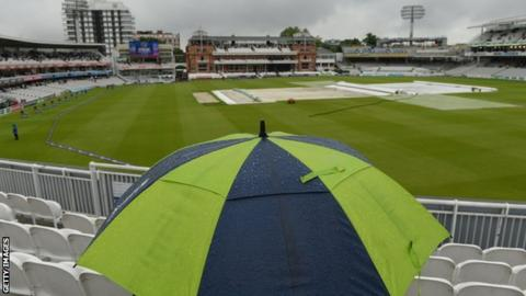 MCC considering rain canopy and drop-in pitches at Lord's