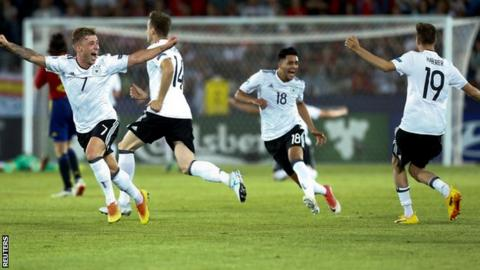 Germany claim Under-21 title