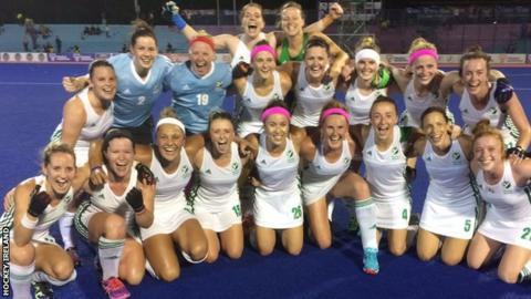 Ireland clinched victory at World League 2