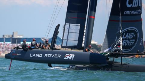 The Ben Ainslie Racing team