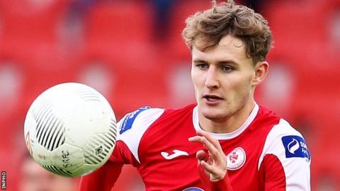 Kieran Sadlier scored Sligo's goal against Derry City