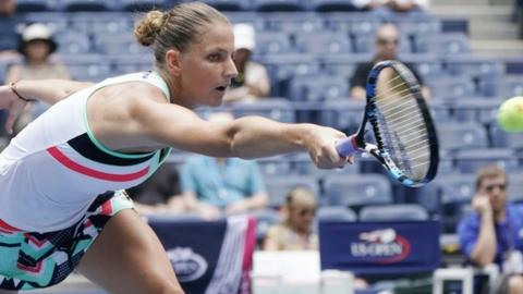 Seeded Pliskova outlasts Gibbs at US Open