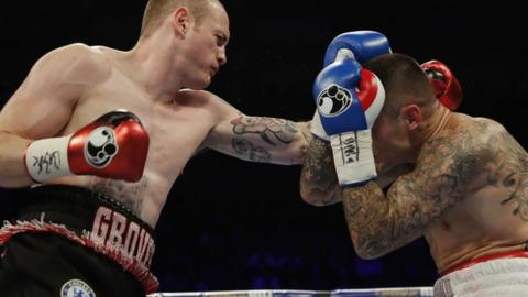 George Groves against Martin Murray
