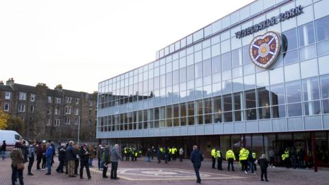 Hearts' new main stand