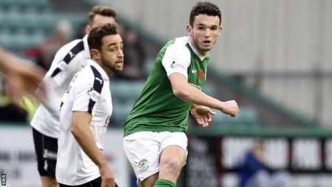 John McGinn has been one of Hibs' star performers this season