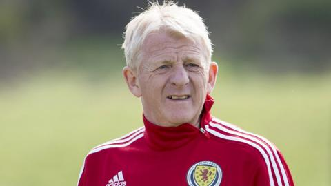 Scotland head coach Gordon Strachan