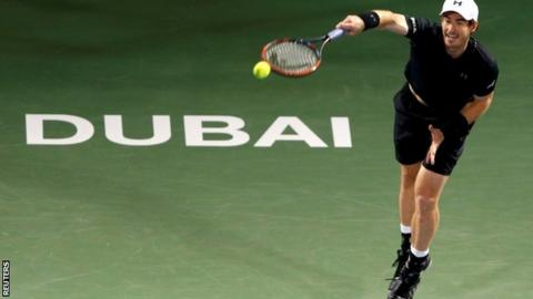 Dubai Open: Murray downs Pouille to reach final