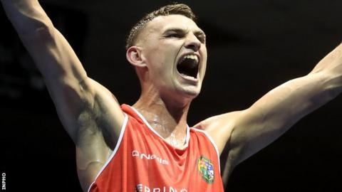Sean McComb is now just one fight away from securing a medal at the European Championships