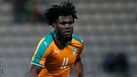 Ivory Coast's Franck Kessie
