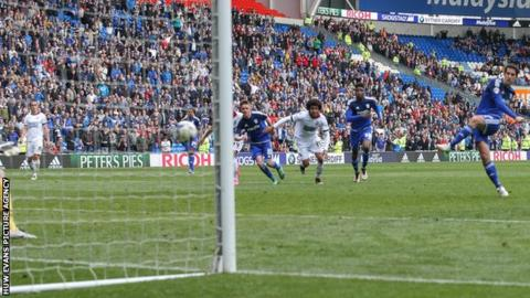 Peter Whittingham scores from the penalty spot to give Cardiff City a late win over Bolton