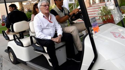 Former F1 boss Bernie Ecclestone