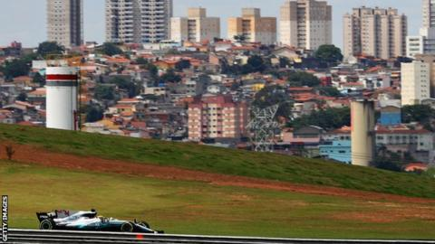 Lewis Hamilton to start Brazilian GP from pit lane