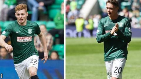 Fraser Fyvie and Scott Allan