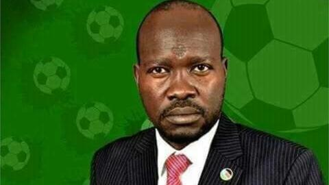 New South Sudan Football Association president Francis Amin Michael Paul