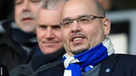 Birmingham City director Panos Pavlakis