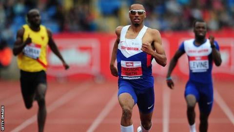 Matt Hudson-Smith is one of two Birchfield Harriers who have already booked their summer in Rio