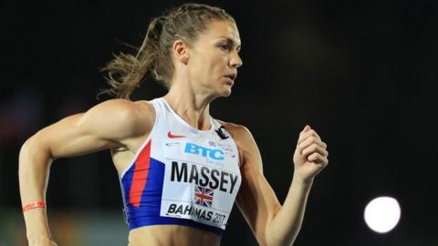 Kelly Massey of Great Britain