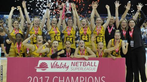Wasps celebrate their Superleague title win