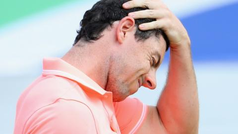Rory McIlroy pulled out of last week's Abu Dhabi Championship