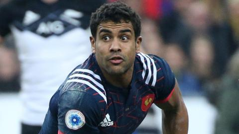 France centre Wesley Fofana