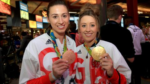 Jade Jones and Bianca Walkden