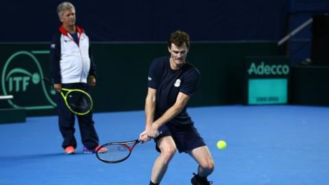 Louis Cayer and Jamie Murray
