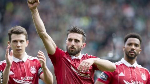 Graeme Shinnie will captain Aberdeen in the cup final