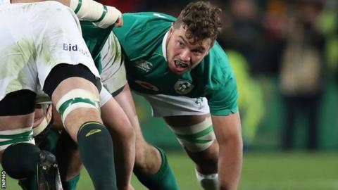 Sean Reidy played for Ireland in tour of South Africa last year