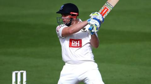 Sussex batsman Luke Wright