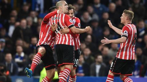 Southampton celebrate