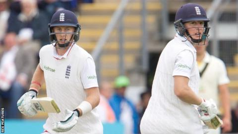 Joe Root and Gary Ballance