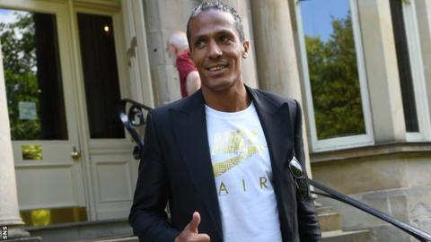Bruno Alves gives the thumbs up to his move to Rangers